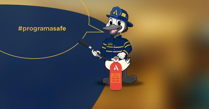 Programa SAFE: vamos juntos combater e prevenir os riscos de incêndio