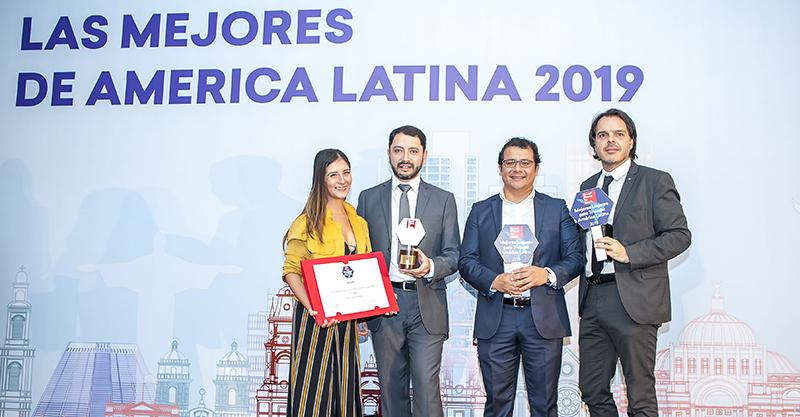 Somos uma das melhores empresas para se trabalhar na Argentina e no Peru